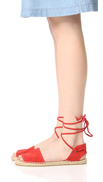 Soludos Balearic Tie Up Sandals
