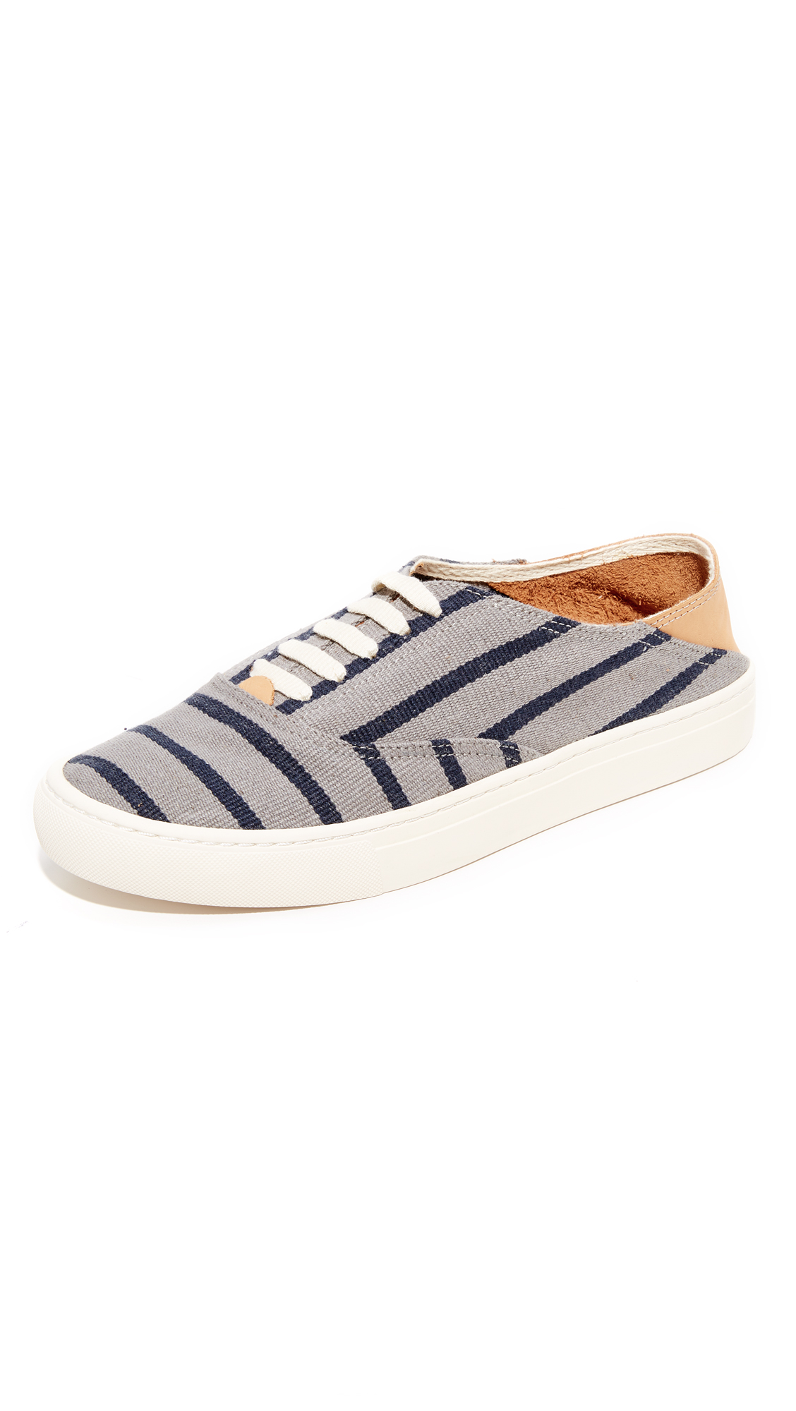 Soludos Canvases STRIPED CLASSIC SNEAKERS
