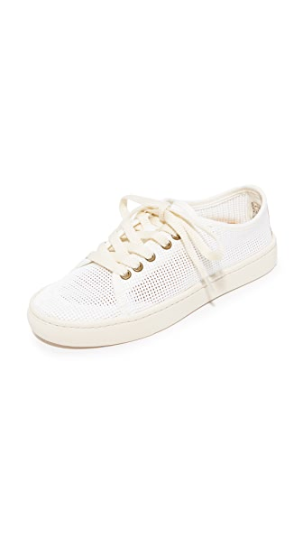 Soludos Mesh Lace Up Sneakers - White