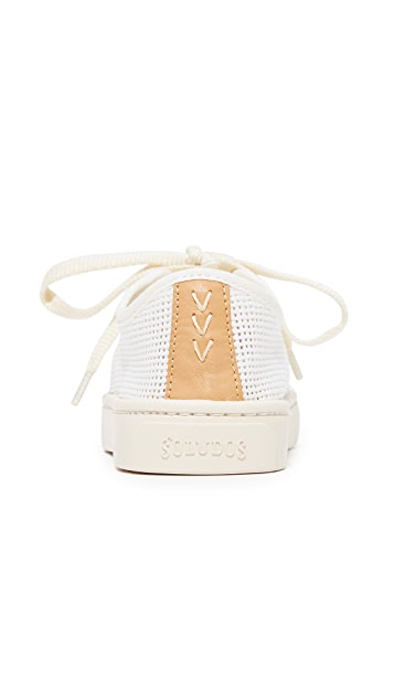 Soludos Mesh Lace Up Sneakers
