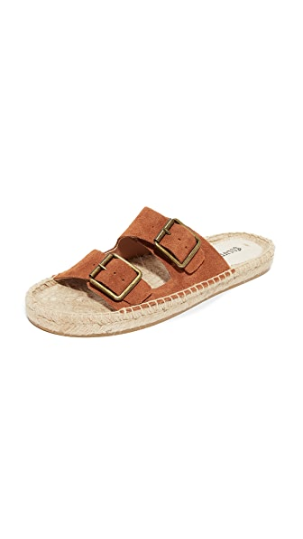 Soludos Elba Slides In Tan