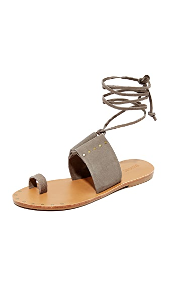 Soludos Milos Sandals - Dove Gray