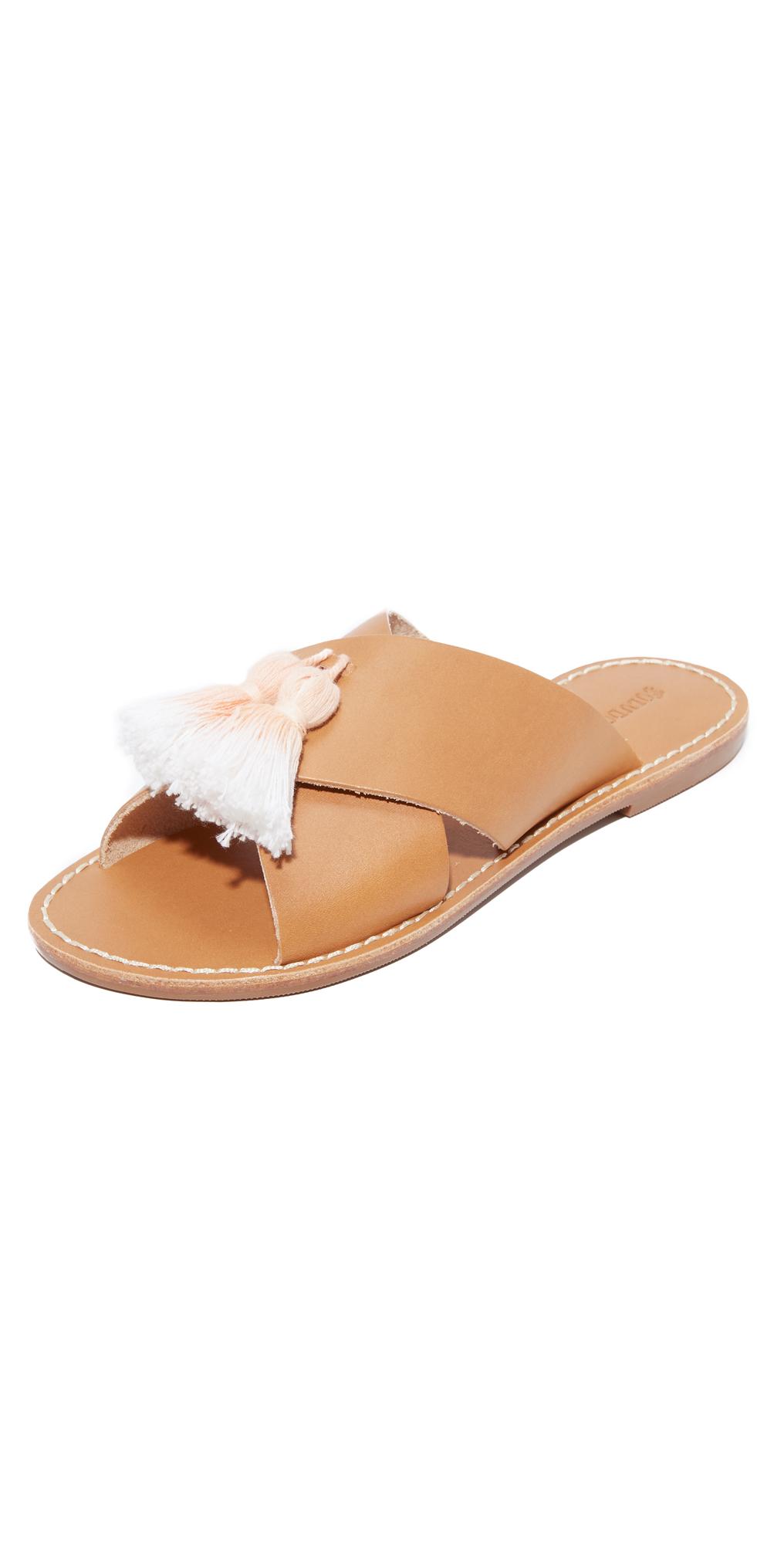Tassel Crisscross Sandals Soludos