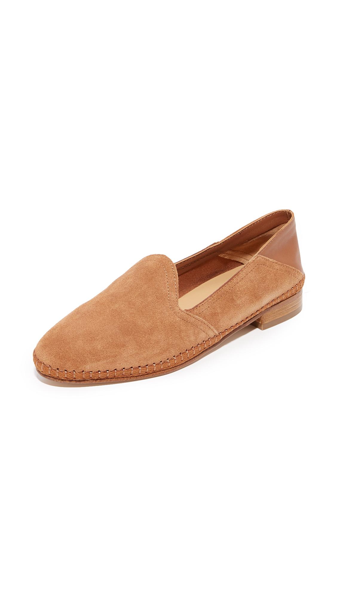 Soludos Venetian Convertible Loafers - Tan
