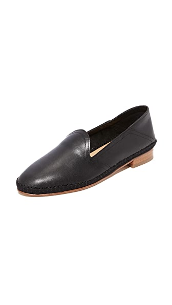 Soludos Venetian Convertible Loafers In Black