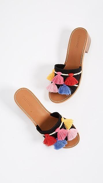 Soludos Tassel City Sandals