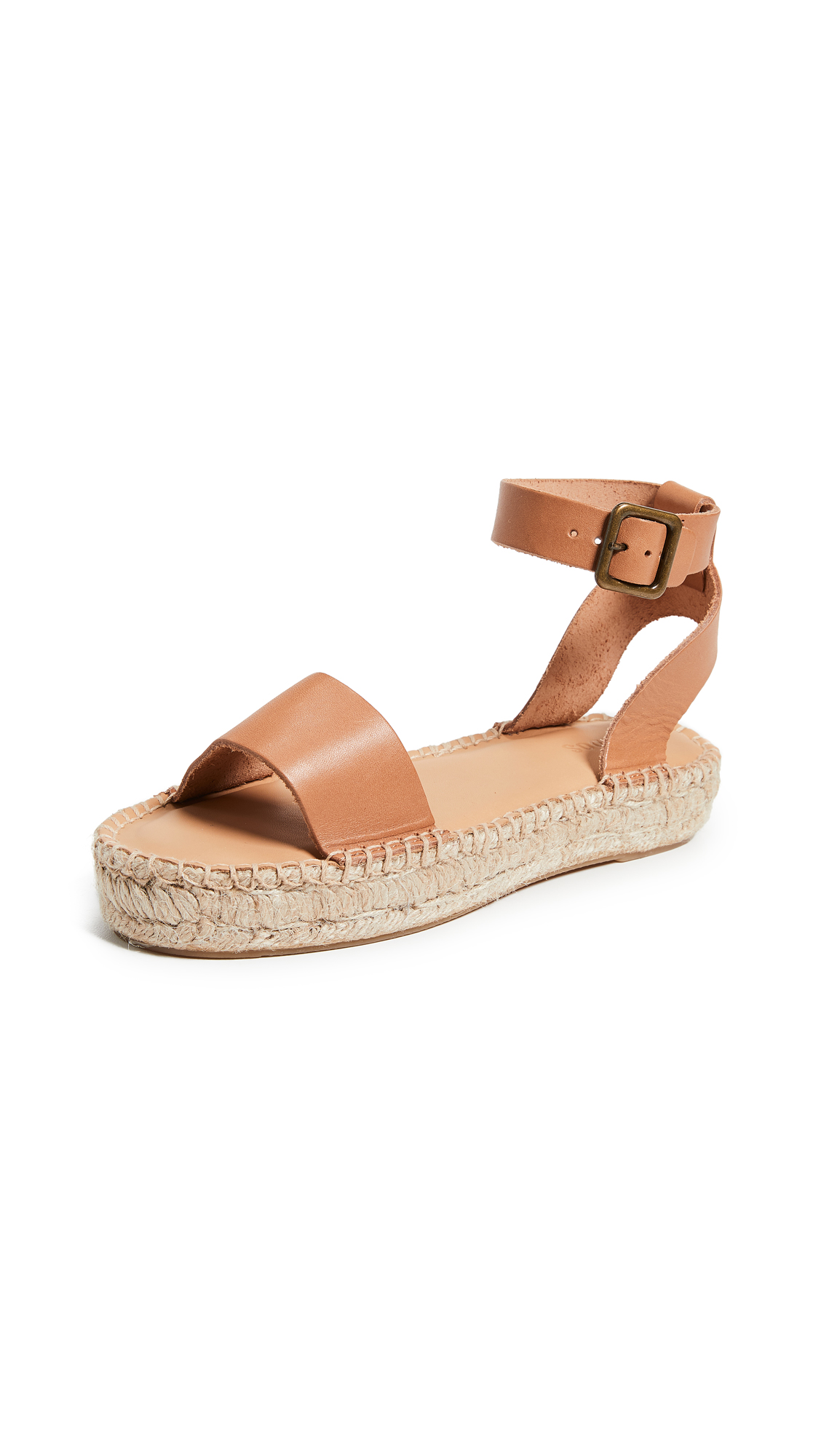 Soludos Cadiz Sandals - Nude