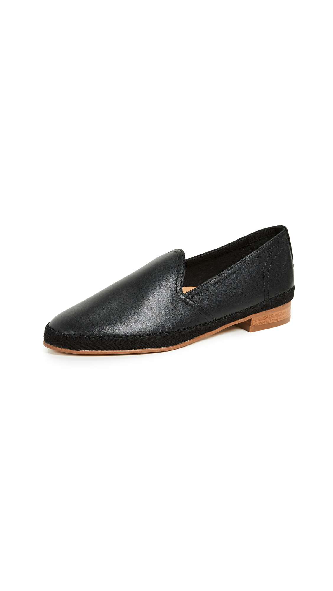 Soludos Venetian Loafers - Black