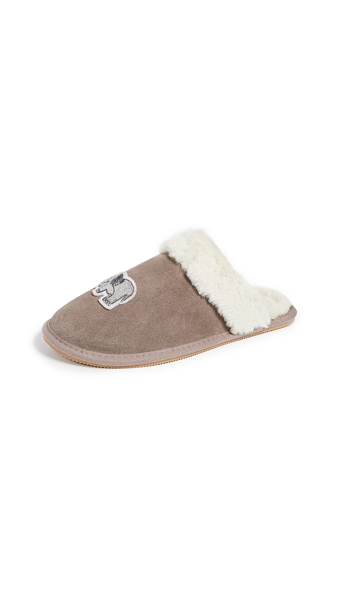 Soludos Elephant Cozy Slippers - Mineral Grey
