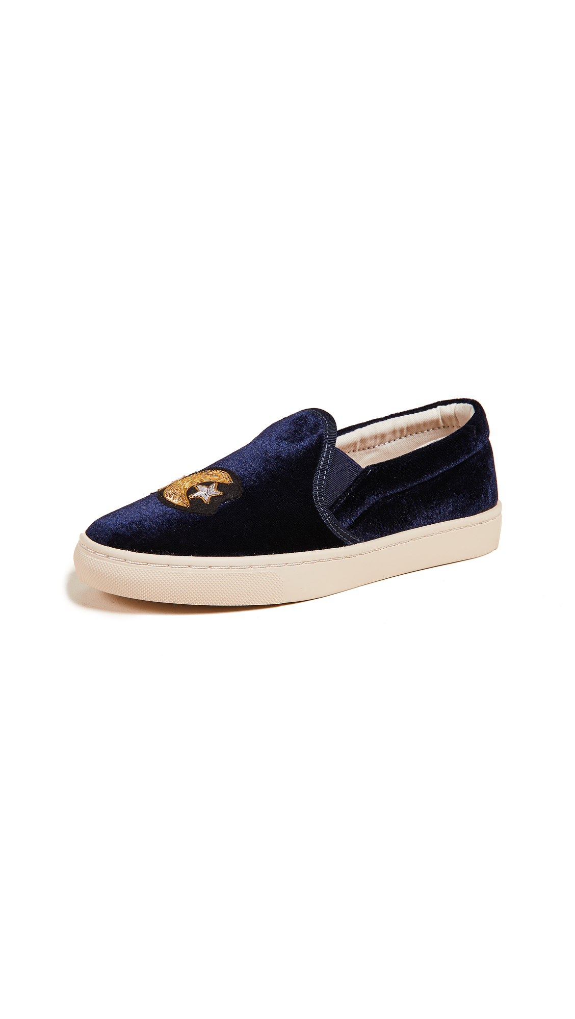 Soludos Celestial Slip On Sneakers - Navy