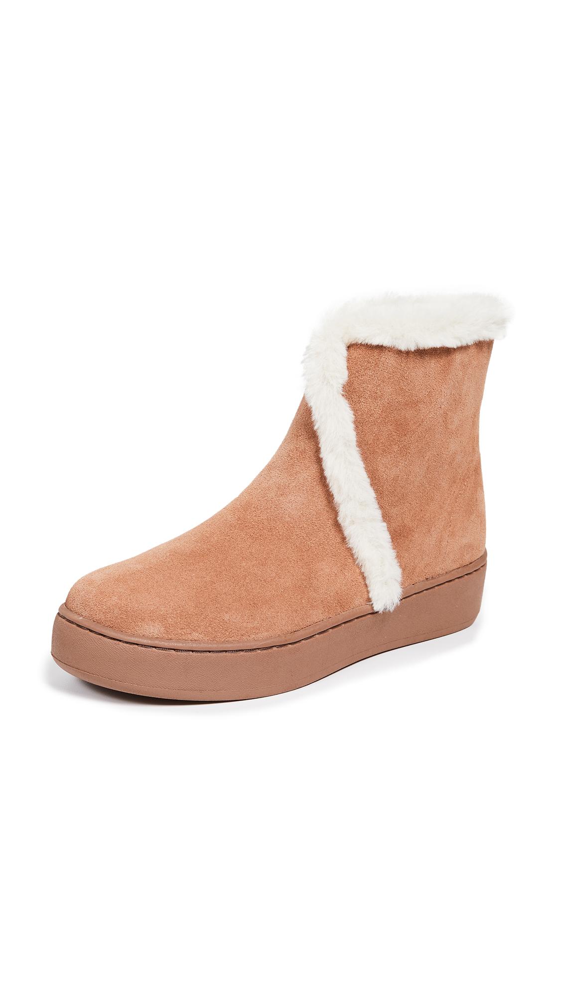 Soludos Whistler Cozy Boots - Tan