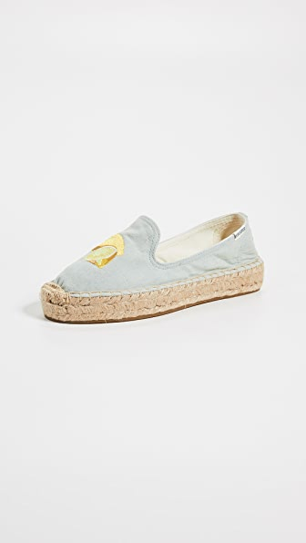 Soludos LEMONS SMOKING SLIPPERS