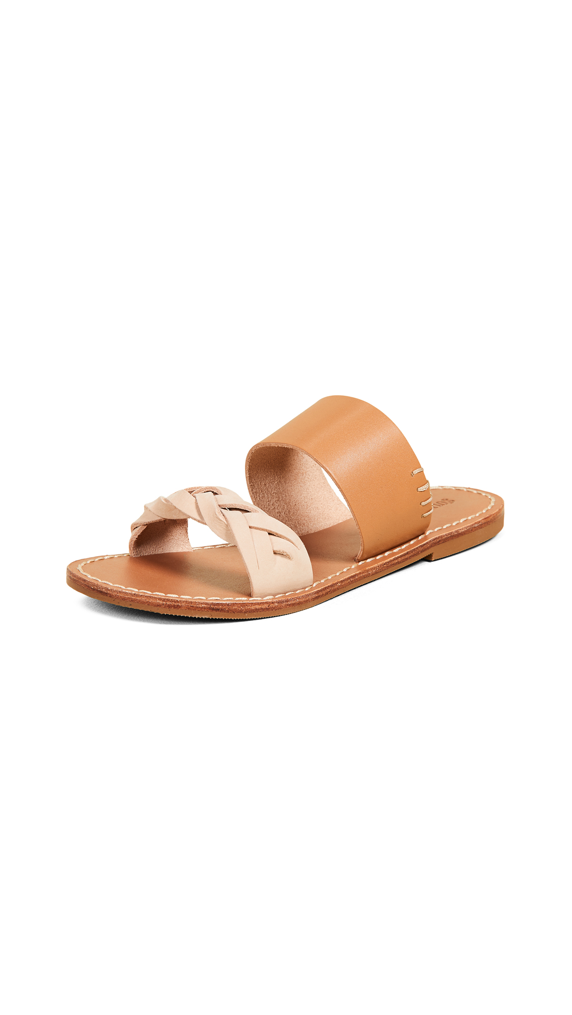 Buy Soludos online - photo of Soludos Braided Slide Sandals