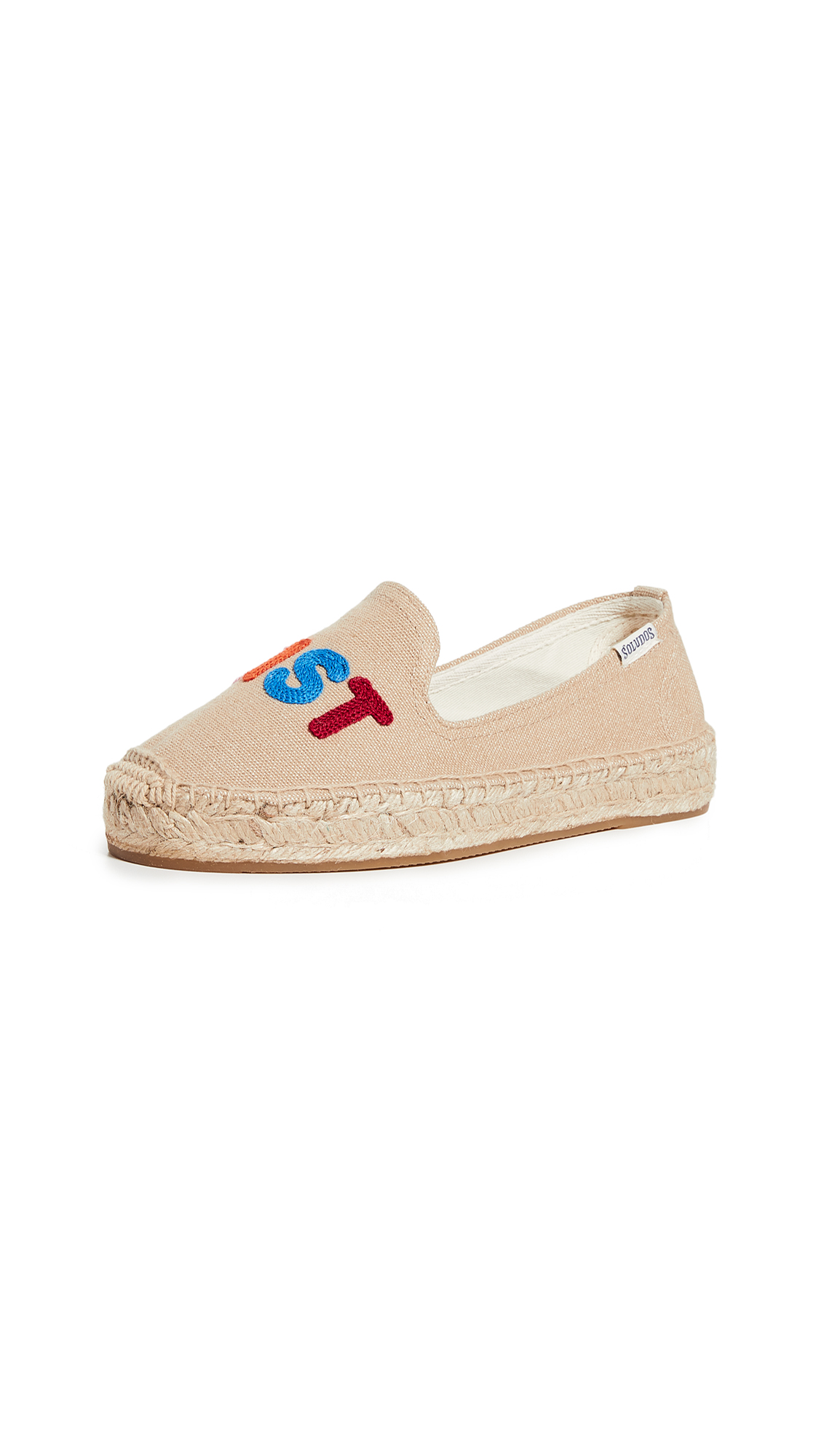 Buy Soludos online - photo of Soludos Feminist Smoking Slippers