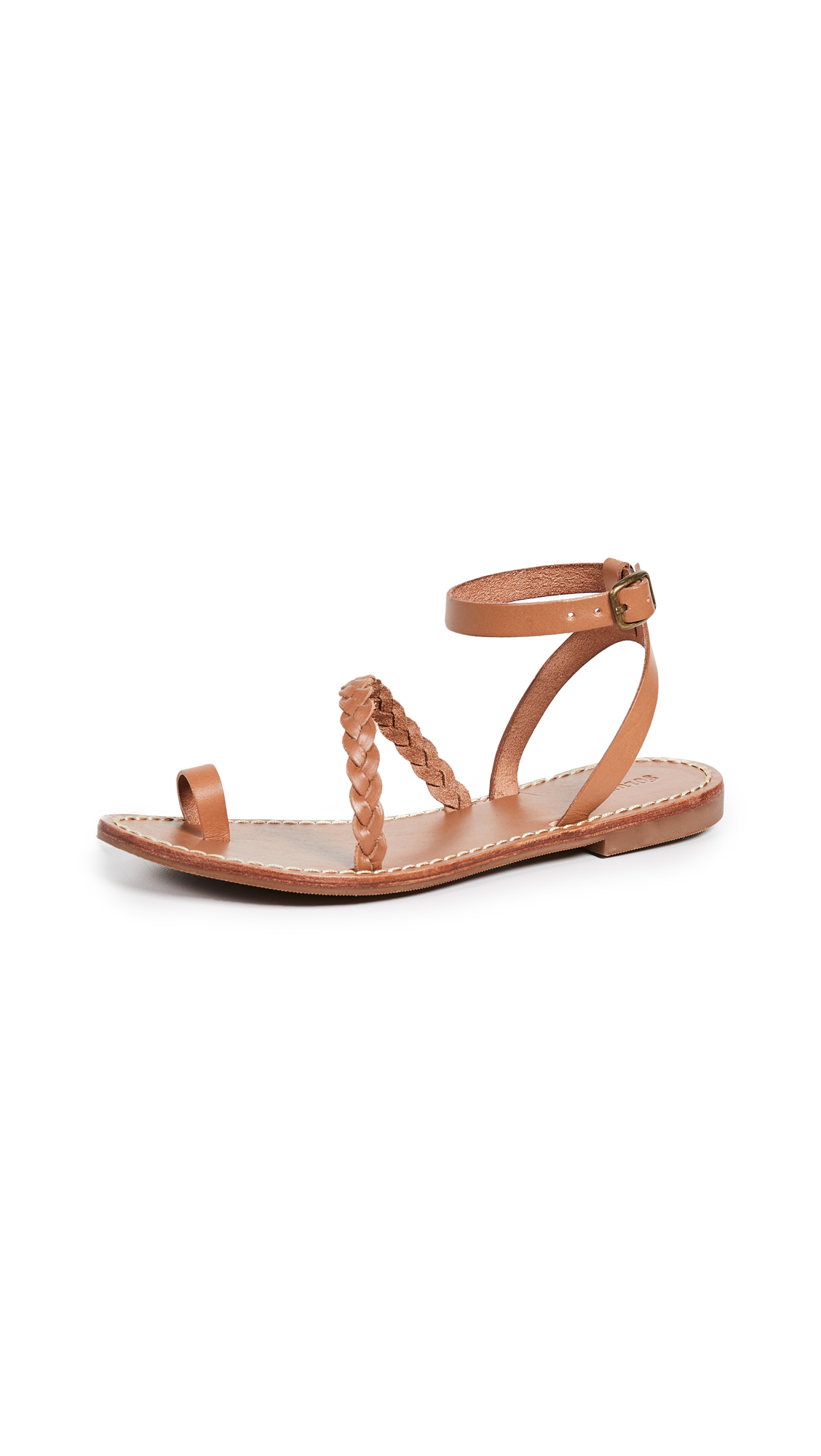 Soludos Madrid Strappy Braided Sandals - 30% Off Sale