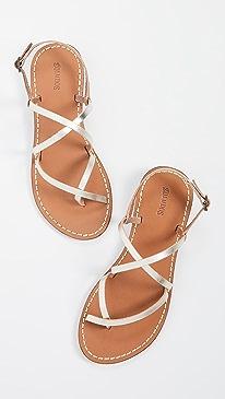 c382e382d Chic Silver Flats Shoes | SHOPBOP