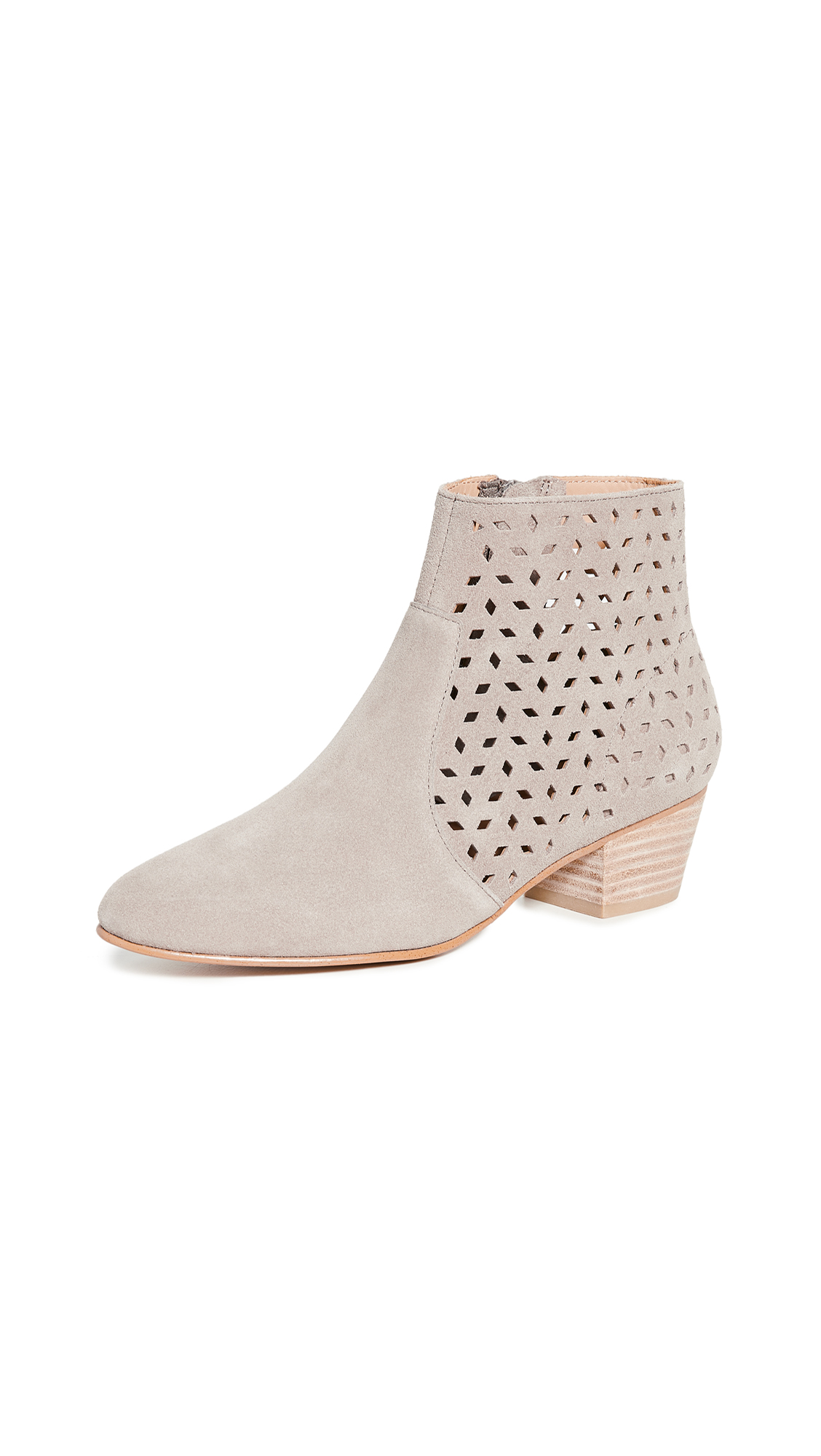 Soludos Lola Perforated Booties - 50% Off Sale