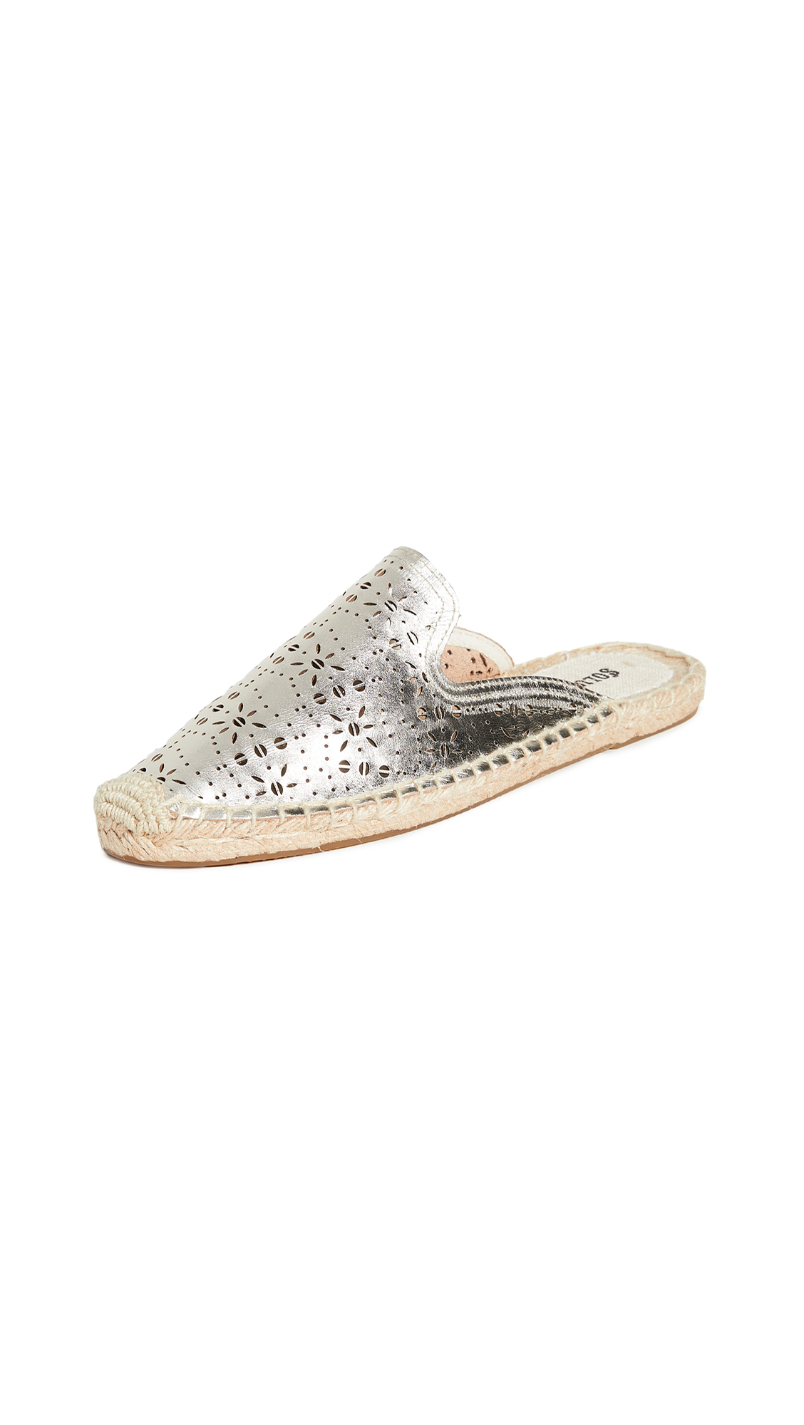 Buy Soludos online - photo of Soludos Ami Perforated Mules