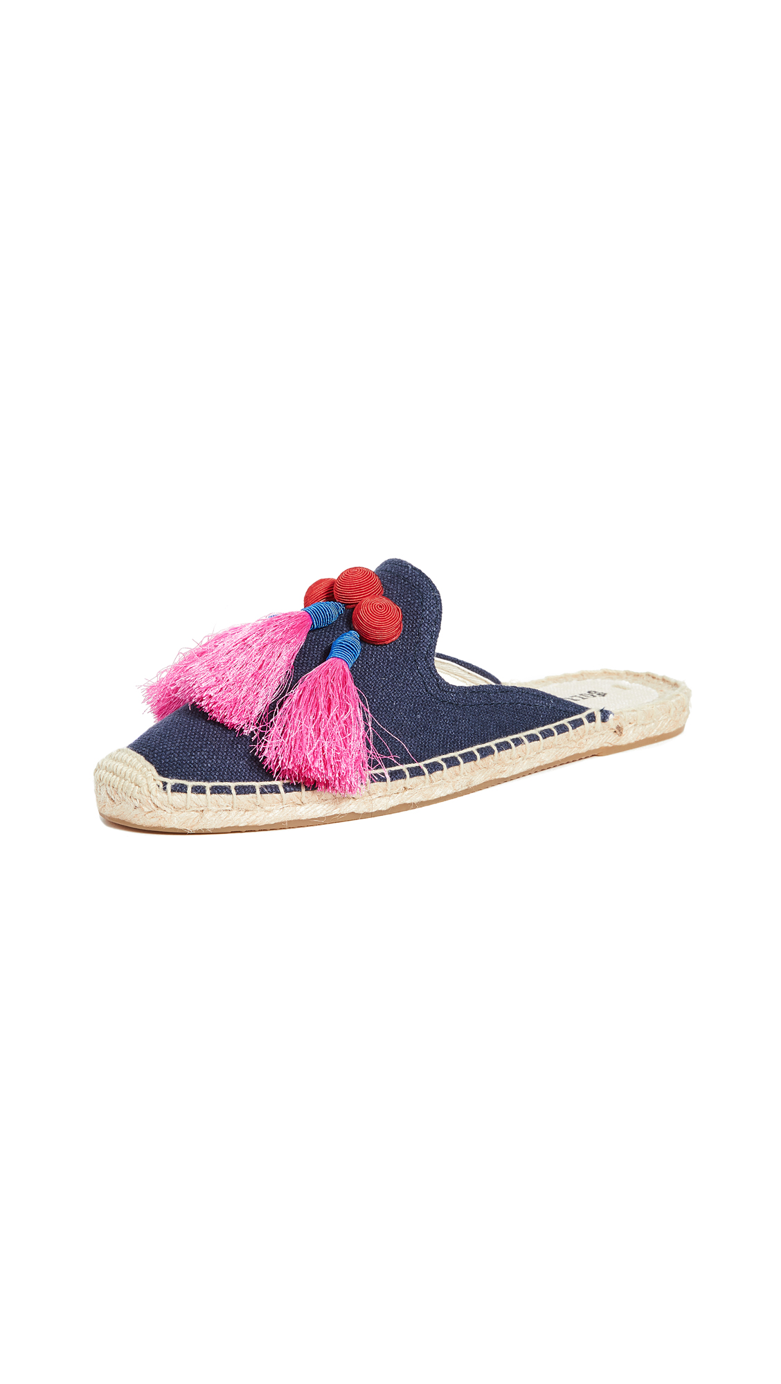 Buy Soludos online - photo of Soludos Alice Tassel Mules