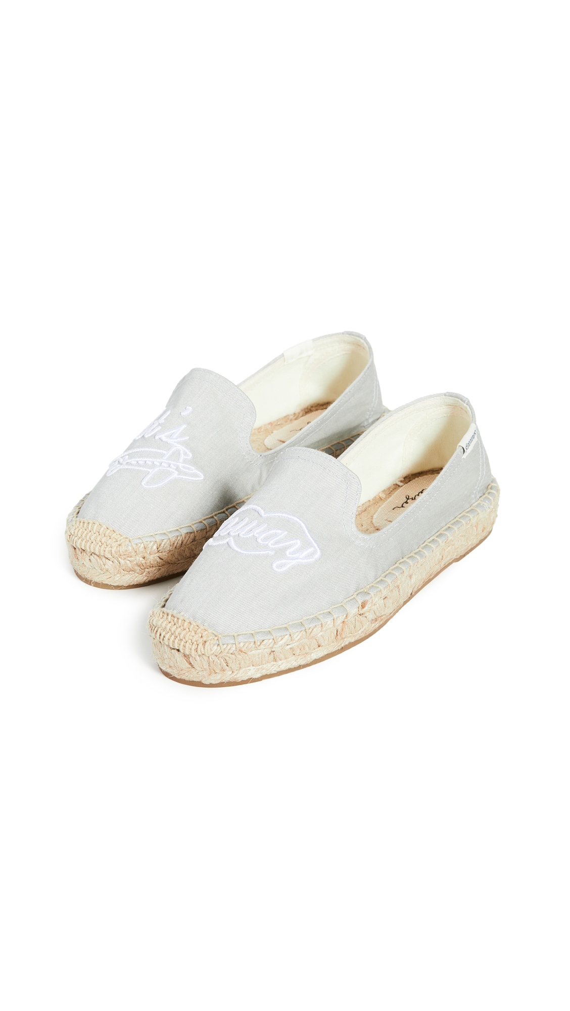 Buy Soludos online - photo of Soludos Let's Fly Away Smoking Slippers