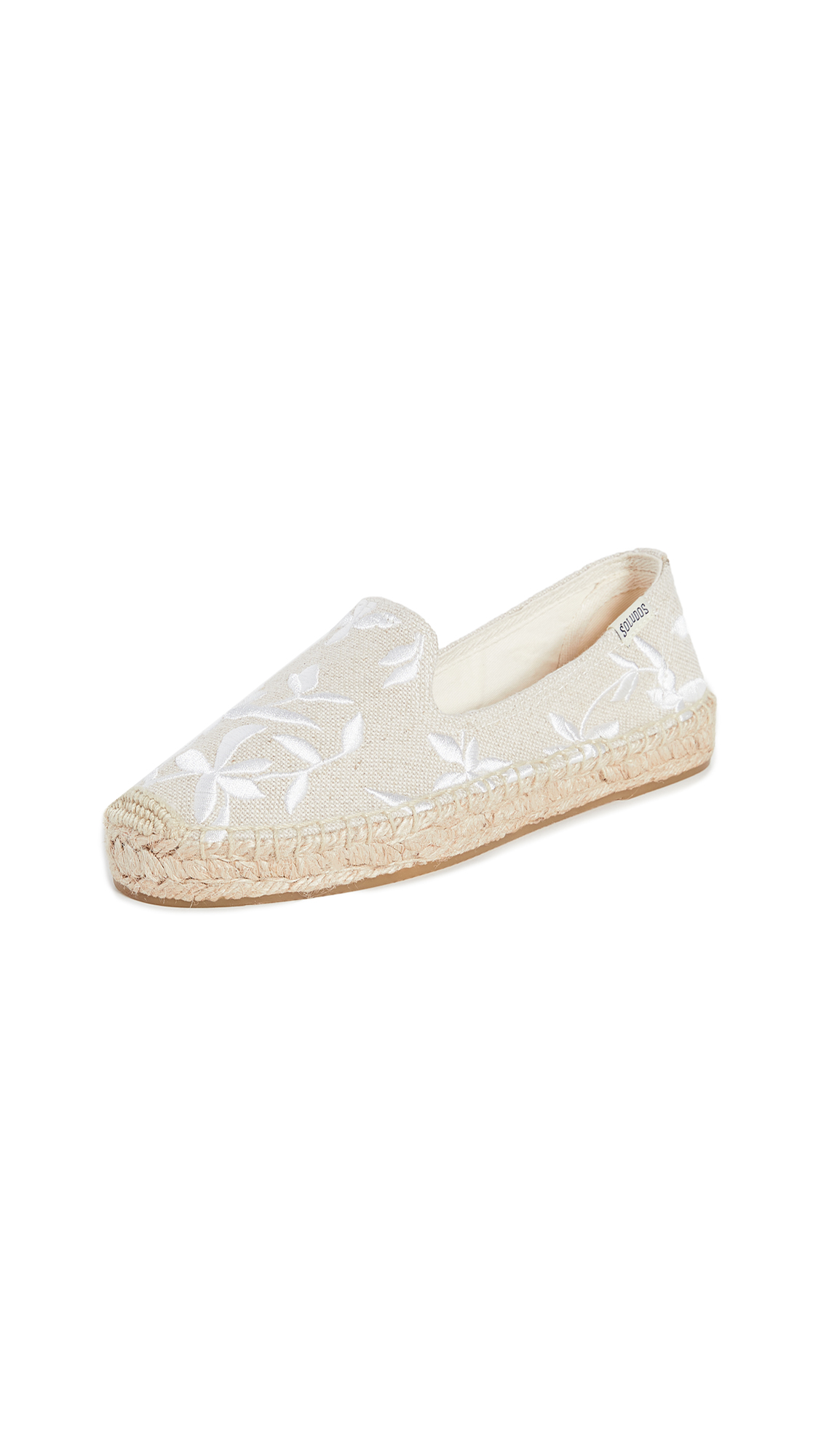 Buy Soludos online - photo of Soludos Shiloh Embroidered Espadrilles