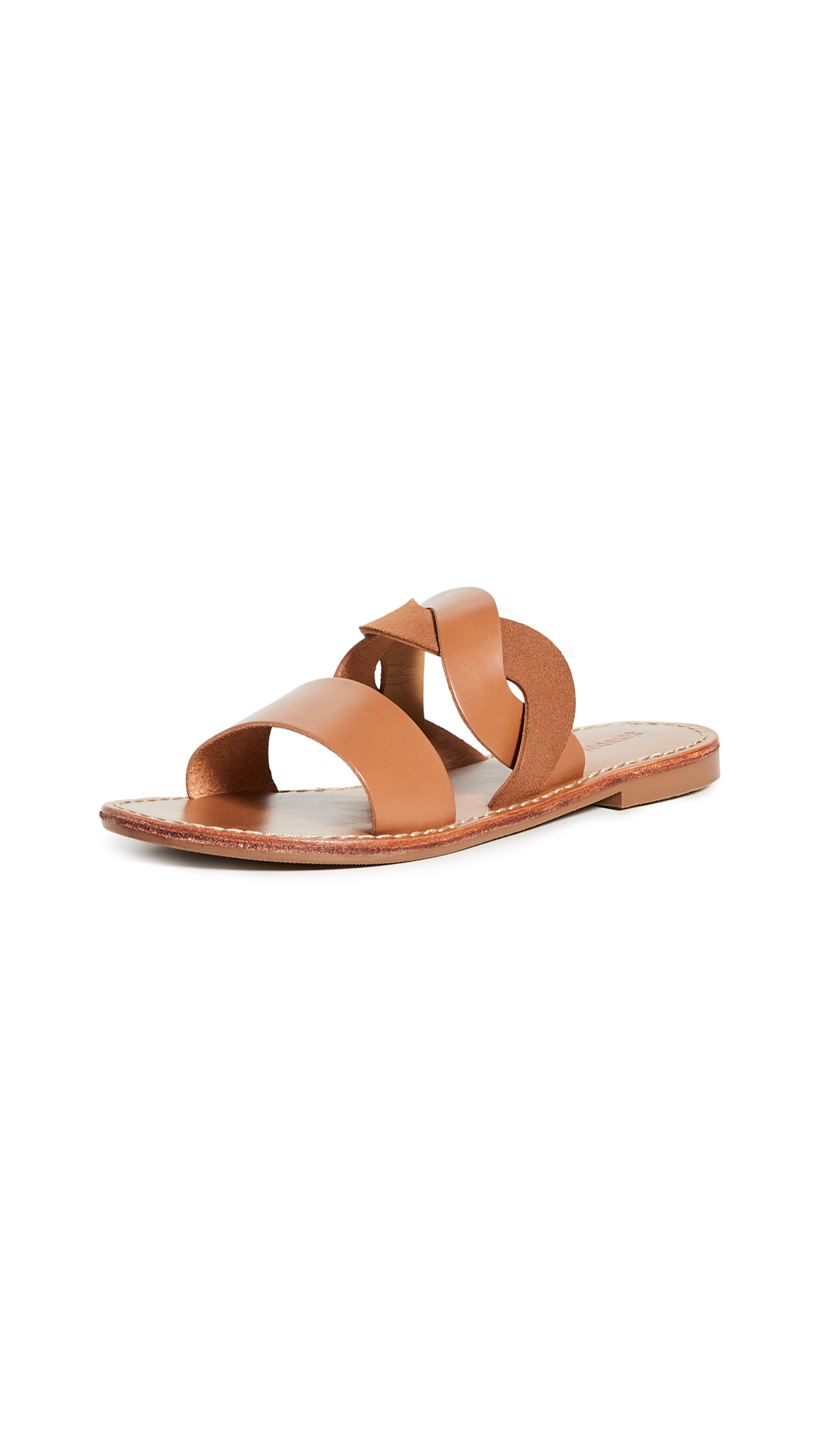 Soludos Imogen Leather Sandals - 30% Off Sale