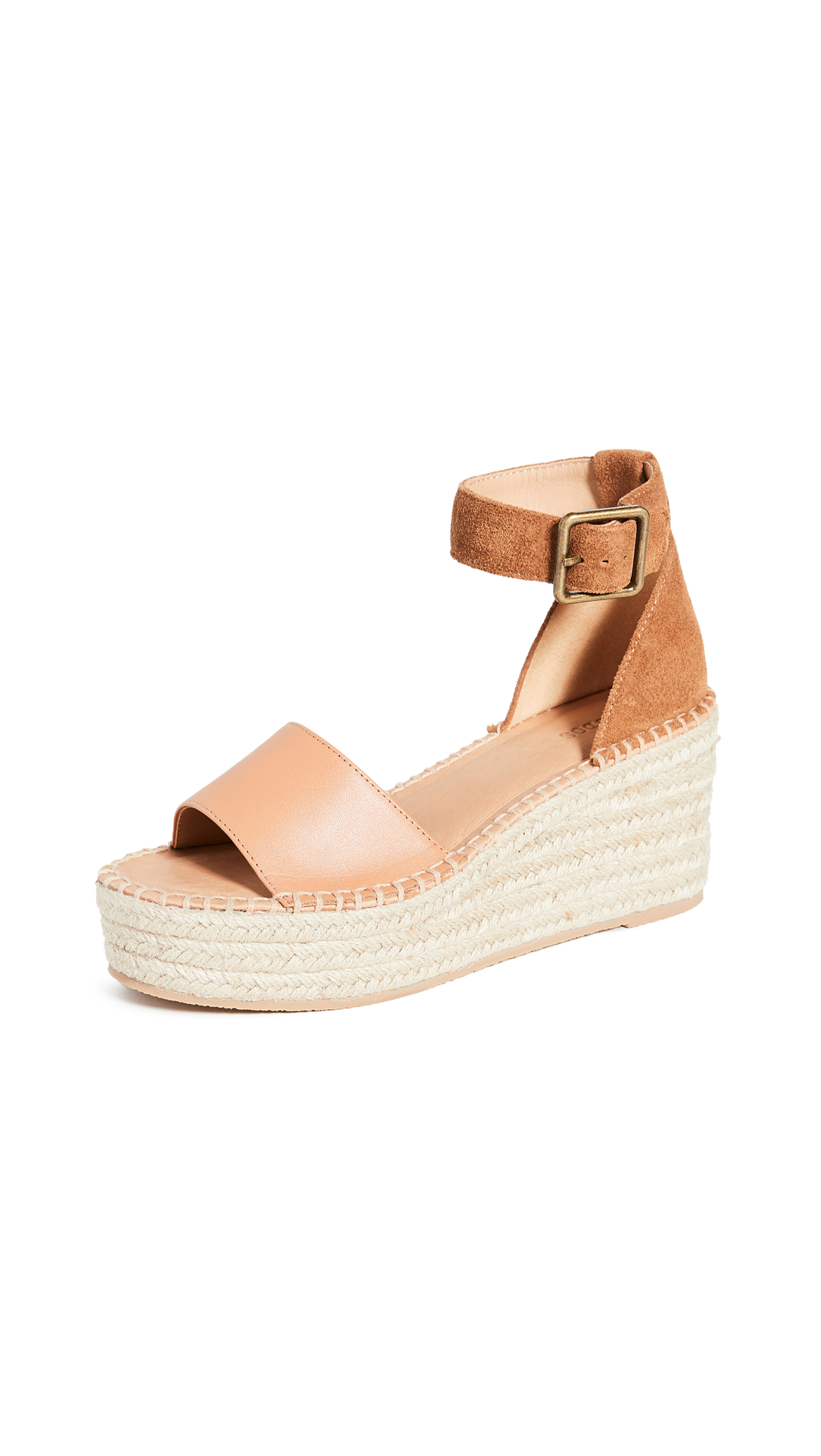 Buy Soludos online - photo of Soludos Palermo Platform Wedge