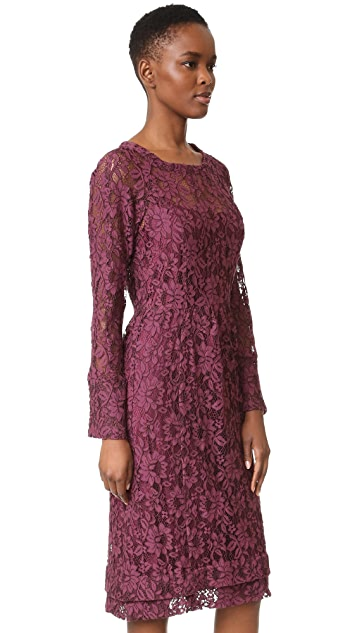 Sonia by Sonia Rykiel Lace Midi Dress