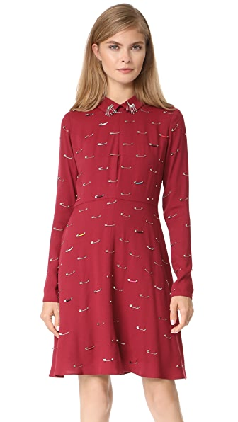 Sonia by Sonia Rykiel Collar Dress