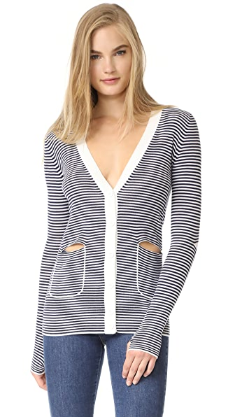 Sonia by Sonia Rykiel Cardigan - Navy/White