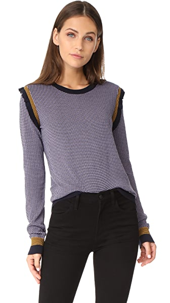 Sonia by Sonia Rykiel Sweater - Navy/Lilac