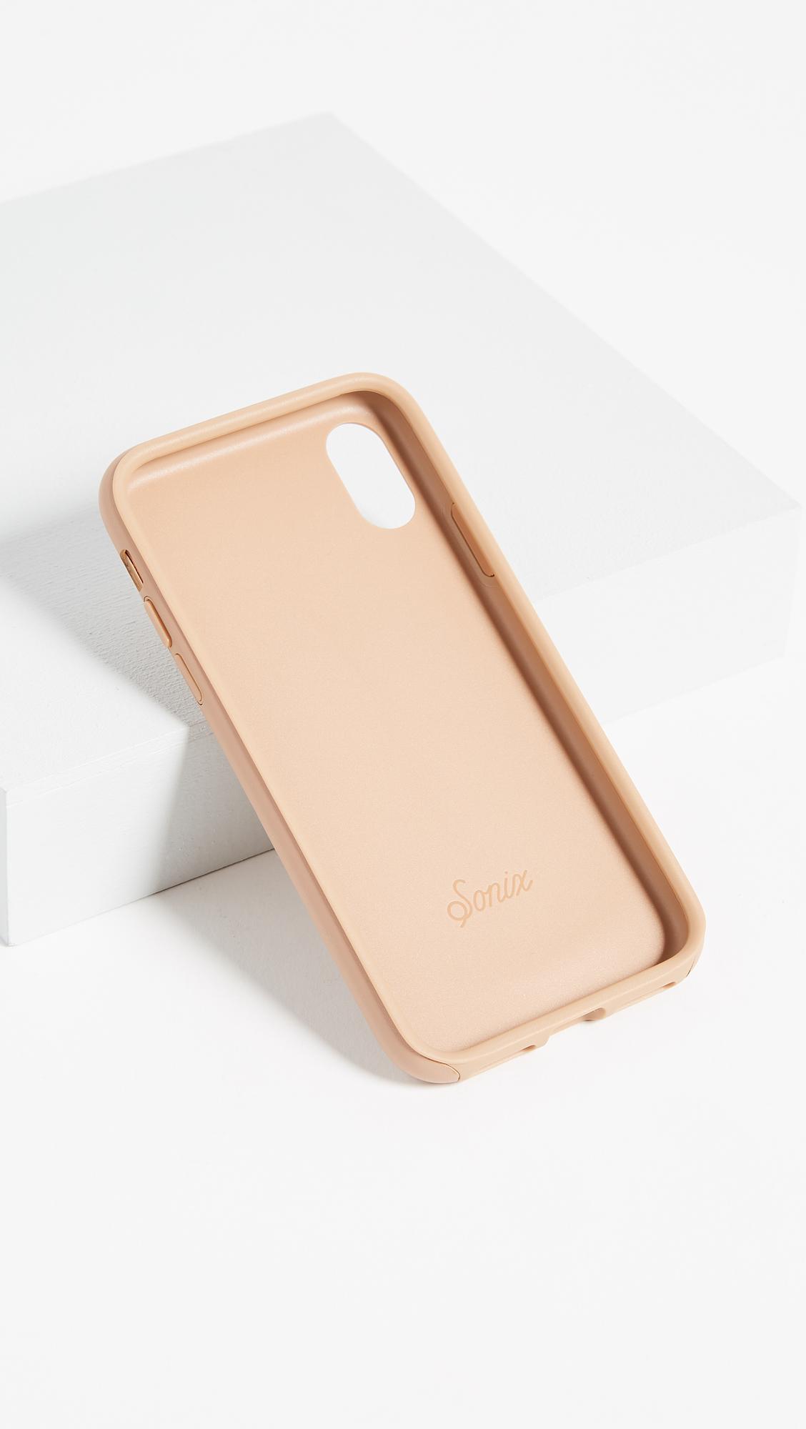 the best attitude 60d41 89a6d Sonix Leather iPhone X Case | SHOPBOP