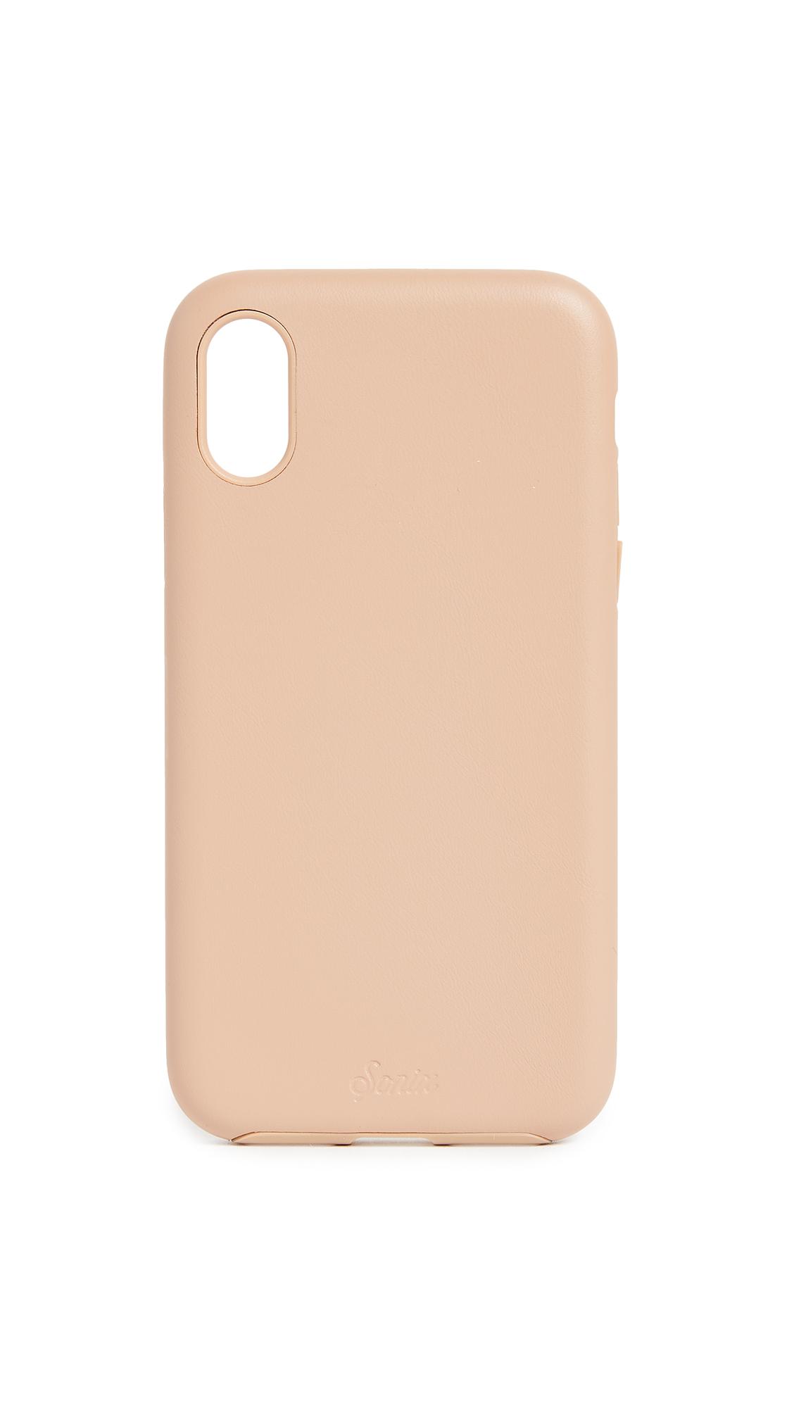 Sonix Leather iPhone X Case - Tan