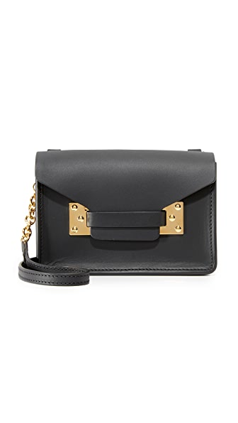 Sophie Hulme Nano Envelope Bag - Black