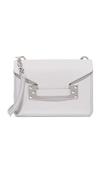 Sophie Hulme Nano Envelope Bag - Light Grey