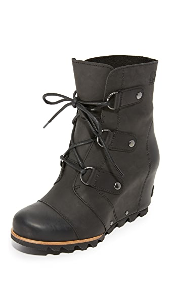 Sorel Joan of Arctic Wedge Booties - Black