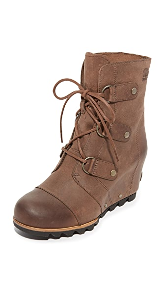 Sorel Joan of Arctic Wedge Booties - Tobacco