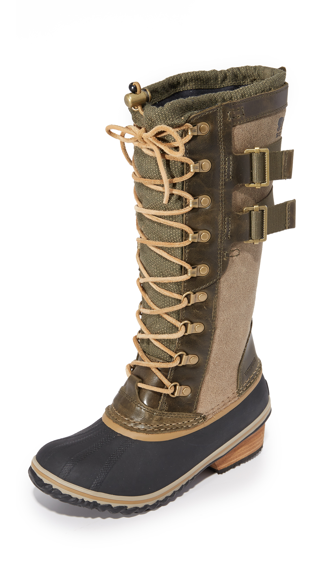 sorel female sorel conquest carly ii boots peatmoss