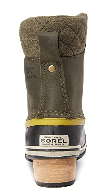 Sorel Slimpack II Lace Up Booties