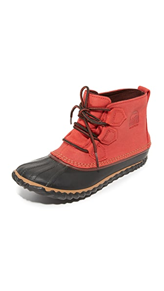 Sorel Out   About Leather Booties - Gypsy