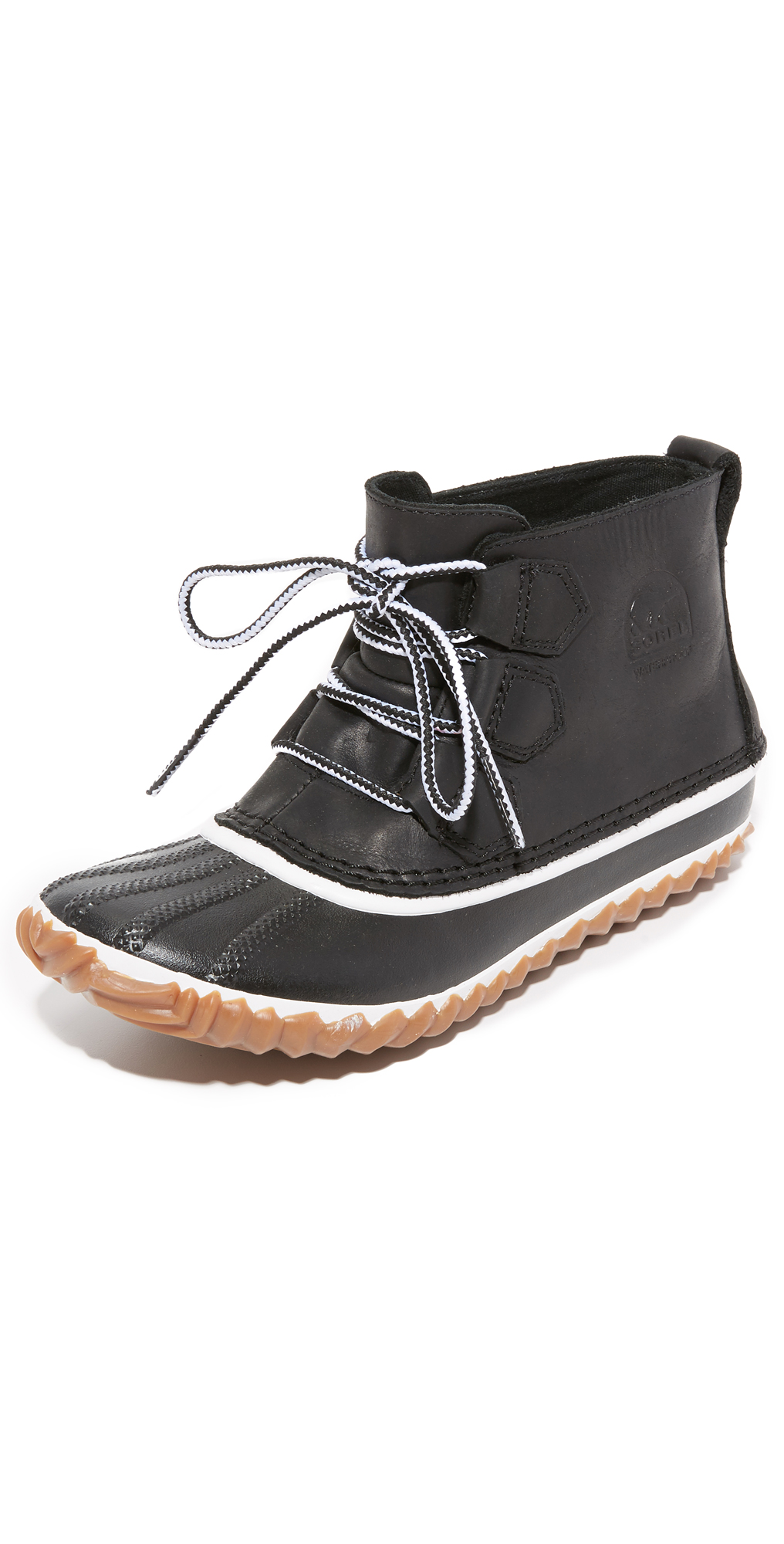 Out 'n About Leather Booties Sorel