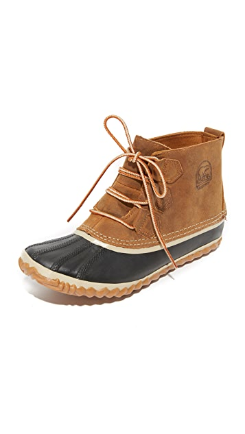 Sorel Out 'n About Leather Booties