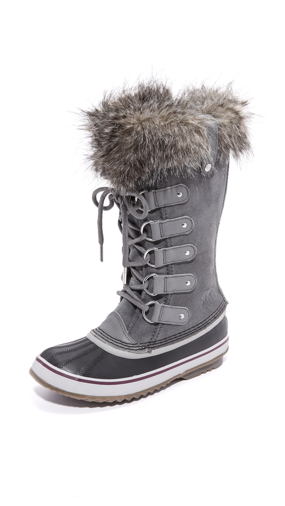sorel female sorel joan of arctic boots quarry