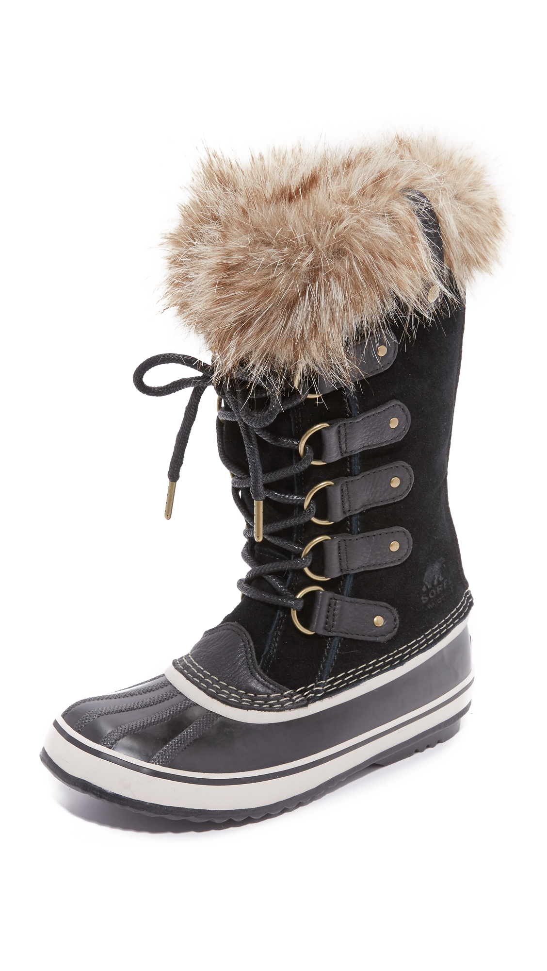 sorel female sorel joan of arctic boots black