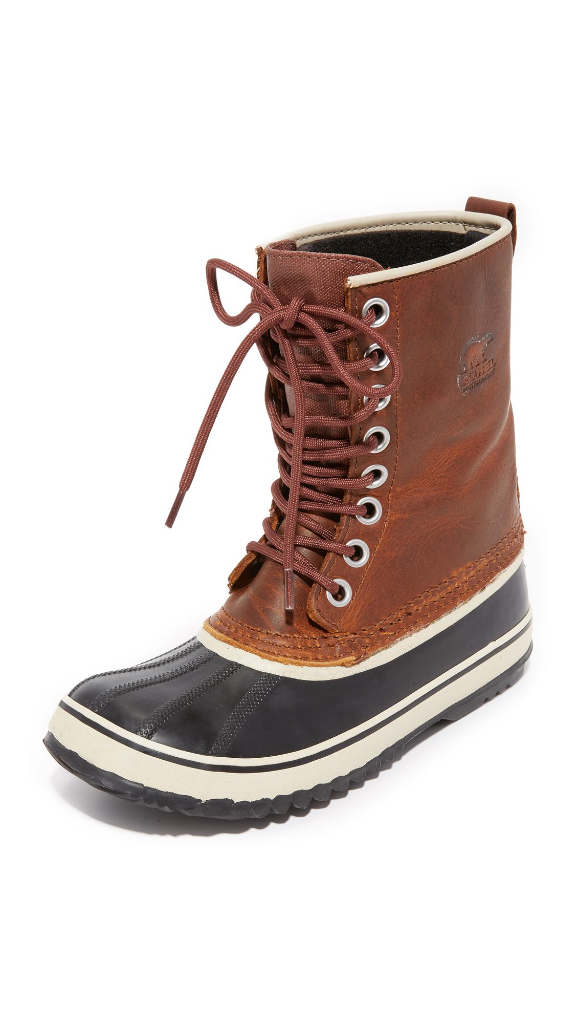 Photo of Sorel 1964 Premium Leather Boots Cappuccino - Sorel online