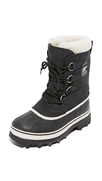 Sorel Caribou Boots In Black