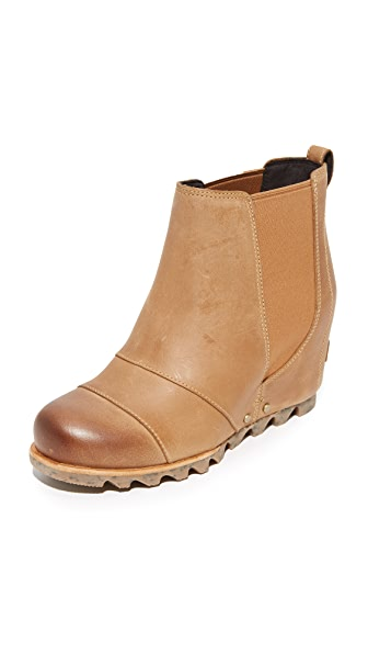 Sorel Lea Wedge Booties - Elk