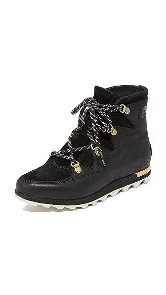 Sorel Sneakchic Alpine Booties - Black