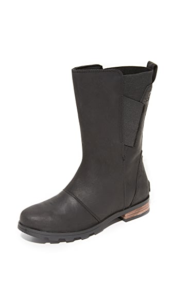 Sorel Emelie Mid Boots - Black