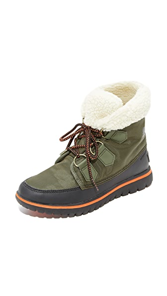 Sorel Cozy Carnival Booties - Nori/Black
